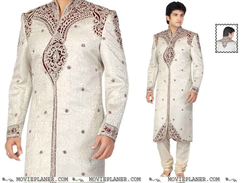Latest Men Sherwani Designs 2013 14 Fashionfist 11