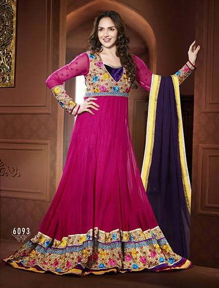 Colorful Indian Dresses Colorful-indian-esha-deol