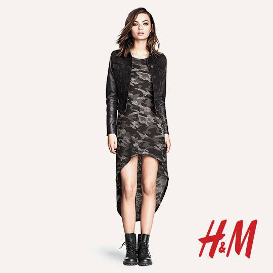 H&M Divided Latest Looks Outfits Collection 2014/15 for Girls