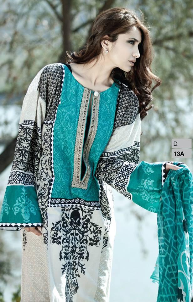 Lawn dress style 2014
