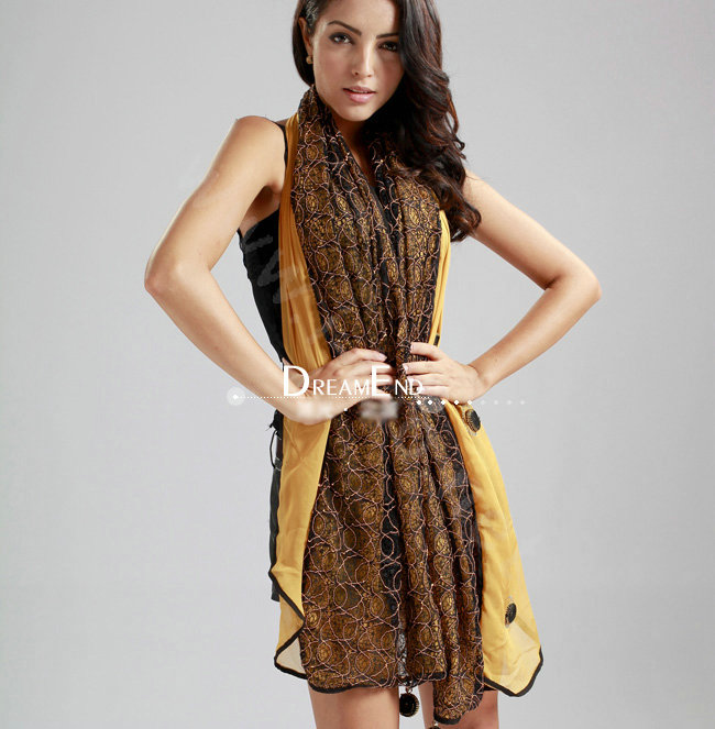 Shoulder Scarves Circle Around Neck Beautiful Collection 2014