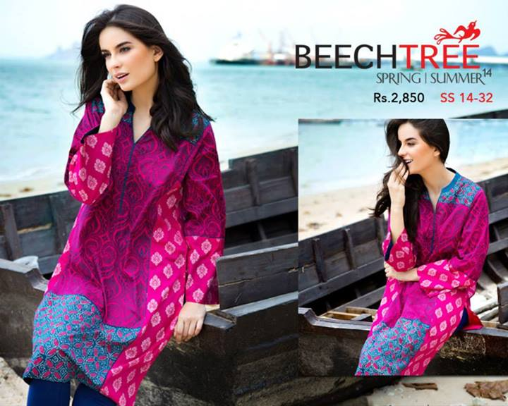 Beech_Tree-Spring-Lawn-Suits-2014-For-Women-Fashion Fist (3)