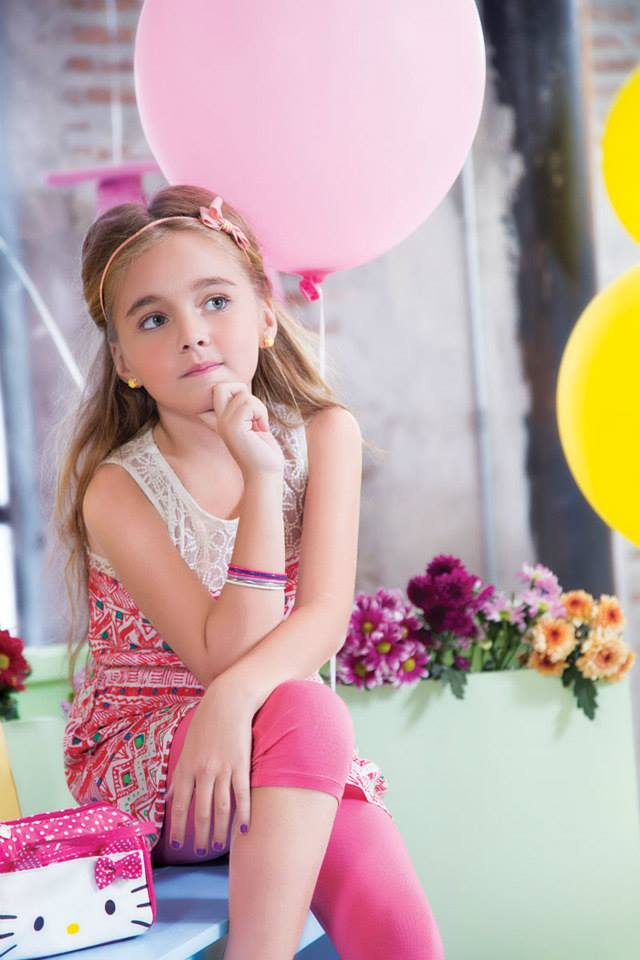 Outfitters Nice Spring Summer Dresses Collection For Kids 2014