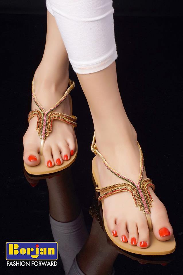 Borjan Shoes Pakistan 2014 Collection For Women