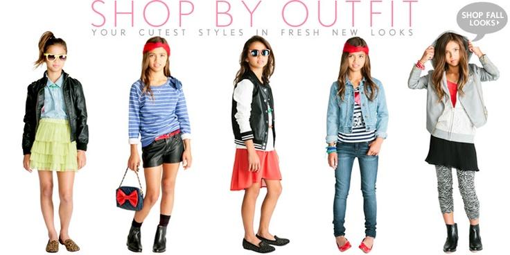 Clothing teen girls store