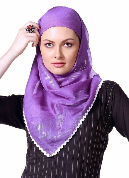 Style Fashion Hijab 2014 Collection For Women