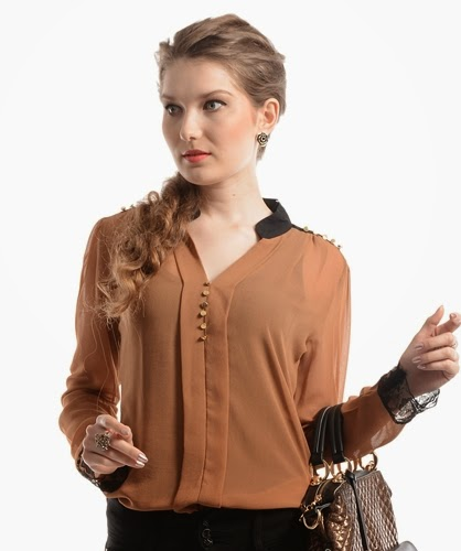 Latest Stylish Top Designs Collection 2014 With Skinny Jeans For Modern Girls Fashion  Fist  3. Latest Stylish Top Designs Collection 2014 With Skinny Jeans For