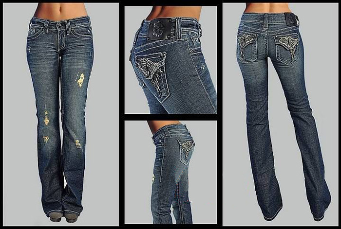 Seven Jeans Womens Billie Jean