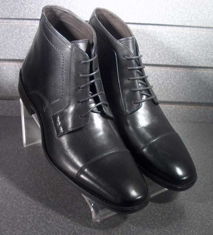 Black Dress Shoes 2014 Collection For Men By Johnston