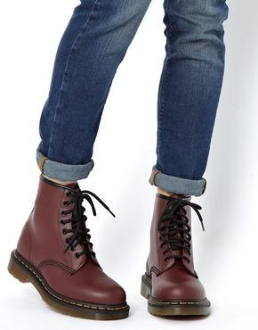 Original Dr. Martens Vonda Womens Docs Black Leather Mid Calf Boots Lace Up Ladies Shoes | EBay