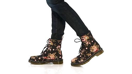 Amazing Womens Dr. Martens 1460 8-Eye Vegan Boot - Red - 569399