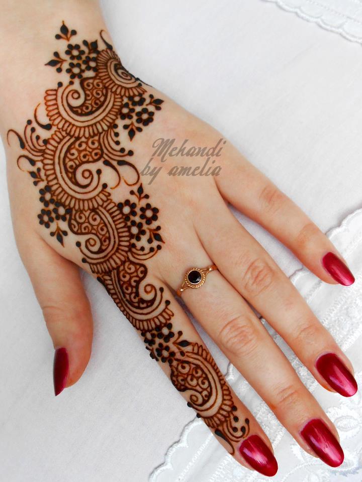 Mehndi Henna For Hands : Mehndi henna designs new for bridals