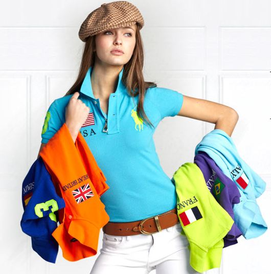 Women Polo Shirts 2014 Designs - Fashion Fist (12). The Polo look combines ...