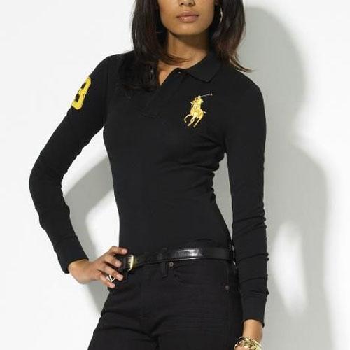 latest women polo shirts 2014 designs