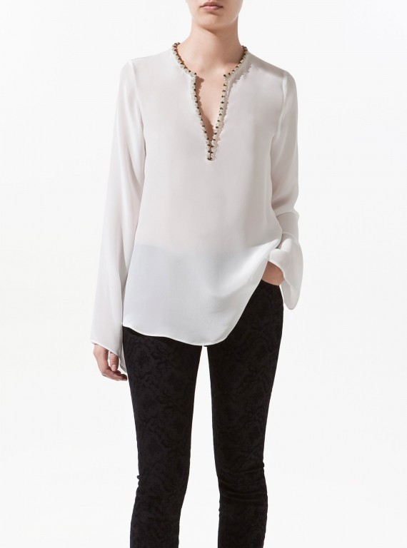 zara clothing uk latest clothes and blouses 2014