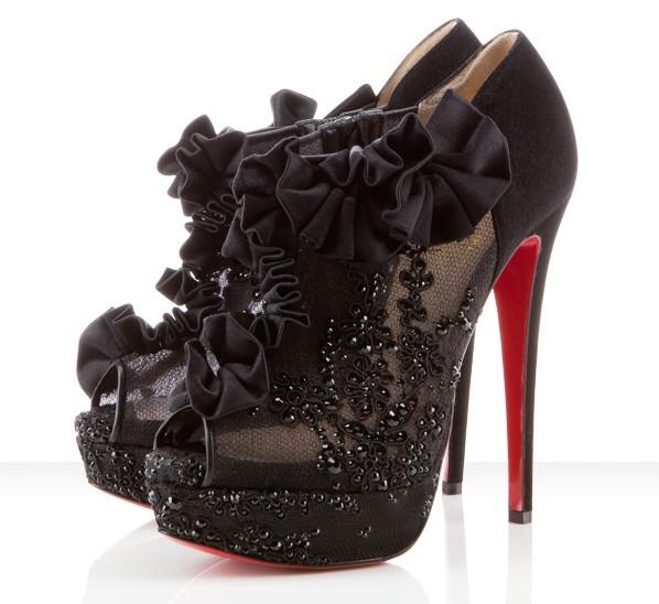 christian louboutin girl shoes