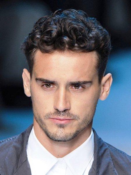 Phenomenal Latest Hairstyles For Men Curly Hair Hair Grab Short Hairstyles Gunalazisus