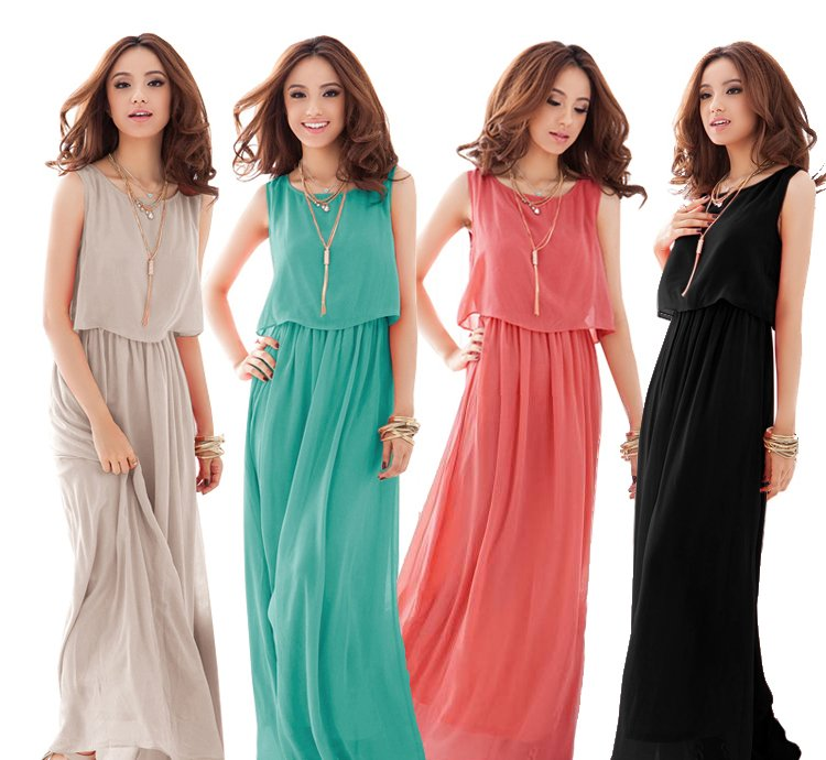 Images of New Style Maxi Dresses - Reikian