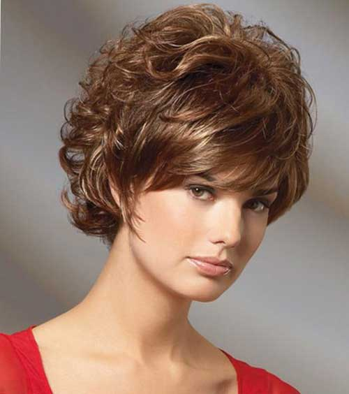 Short Curly Hairstyles for Women 2014