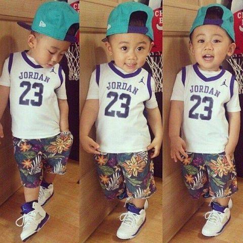 Stylish Eve Cute Baby Hip Hop Fashion 2014 2015 Fashion