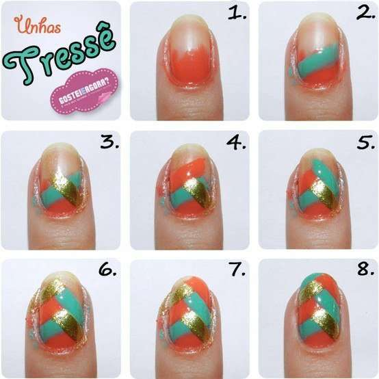 Nail Art Tutorials Latest and Stylish Designs - Fashion Fist (13)