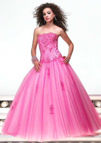 Pink Wedding Gowns Latest Designs For Girls