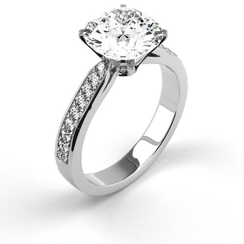 Solitaire Engagement Rings Latest Designs 2015 For Women Fashion