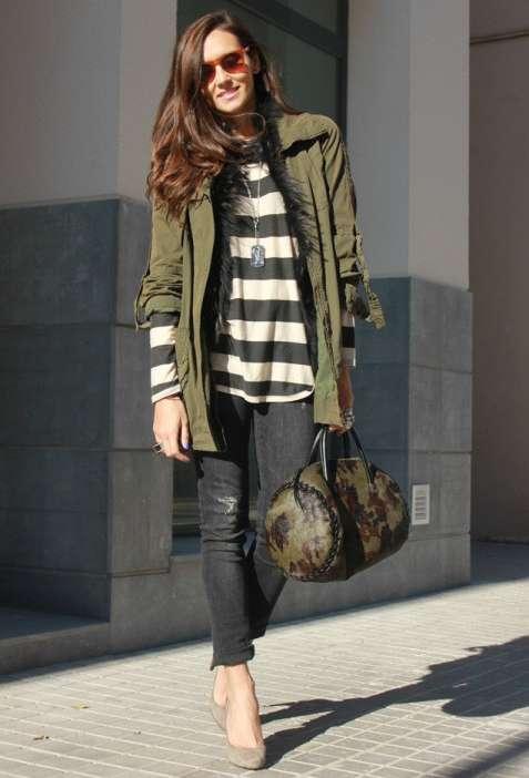 Ladies Parka Style Coats