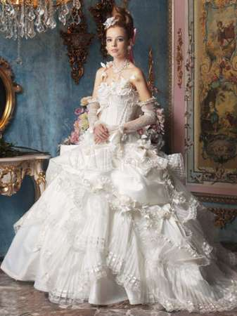 wedding gowns new rococo collection by mary anthony fashion fist 4