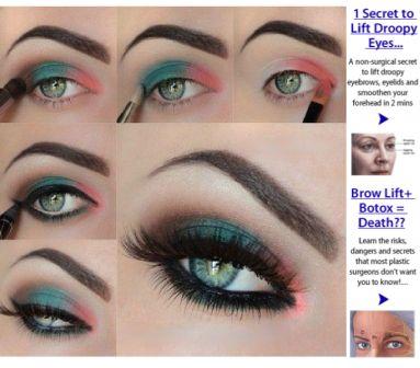 Makeup Tutorials For Girls Green Eyes 2015