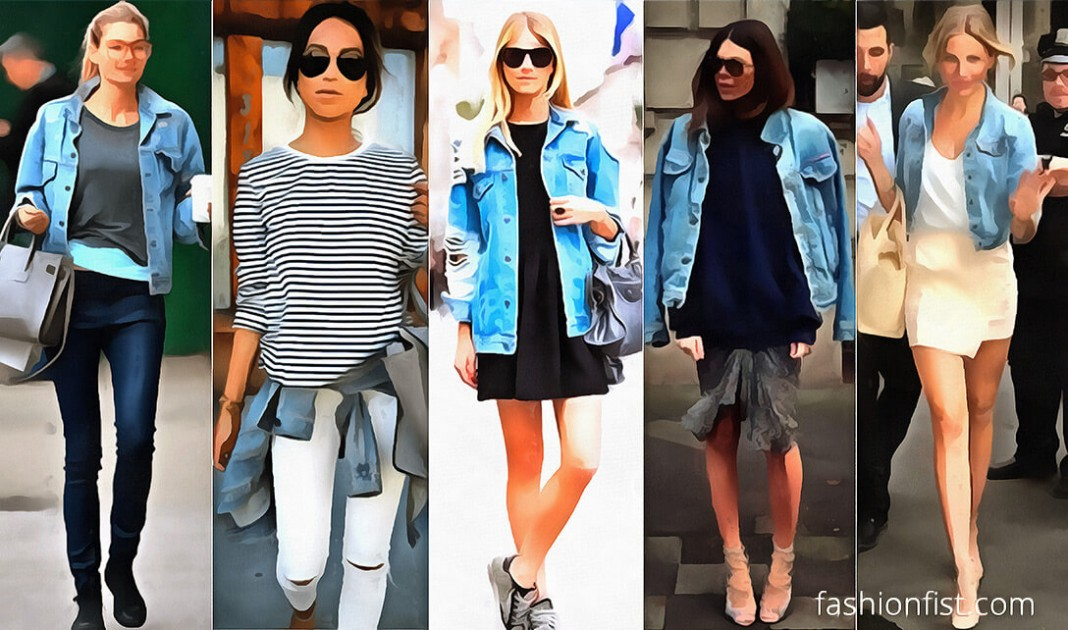 5 Ways to get ready with Denim Jacket for this fall - Fashion Fist