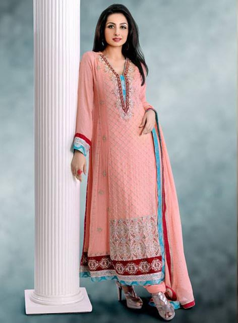 Pret Wear Dresses 2014 Collection By Popular Style Fashion