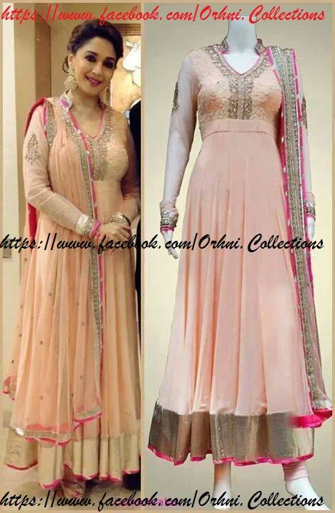 Orhni Boutique Embroidered Gowns Siuts Designs 2014/15 For Women