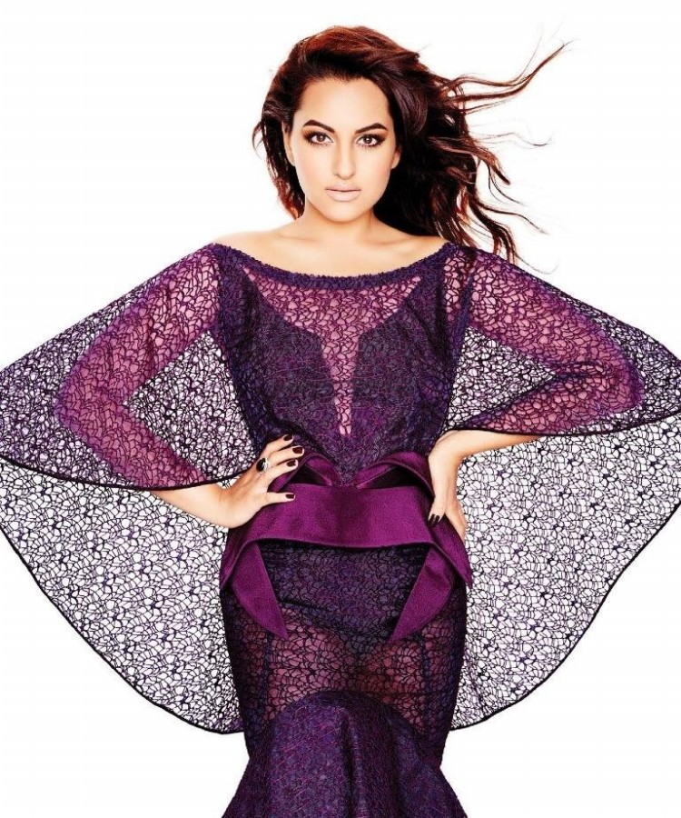 Sonakshi Sinha Bollywood Actress Latest Photo Shoot 2014