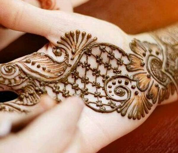 New and Stylish Bridal Mehndi Designs 2014  New and Stylish...