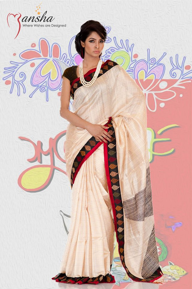 Exclusive Boishakhi Party Sarees Wear Collection 2014 By