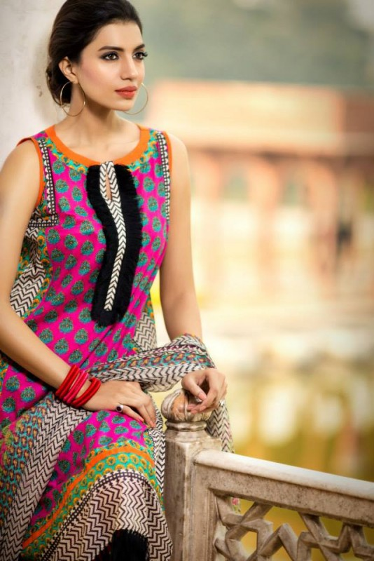 Khaadi-Exclusive-Summer-Party-Wear-Collection-2014-for-Women-Fashion Rely (2)