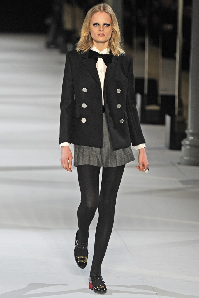 Saint Laurent New Ready to Wear Fall Collection 2014 for Women