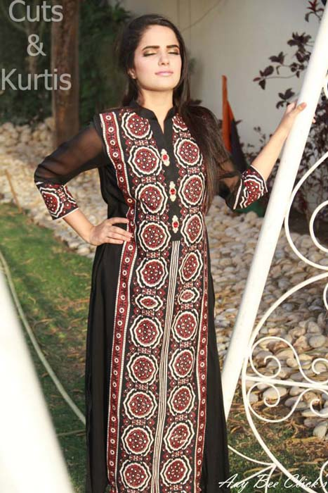 cuts amp kurtis new summer collection 2014 casual wear for girls