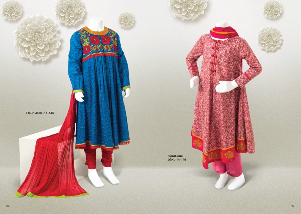 junaid jamshed new summer lawn dress collection 2014 vol2
