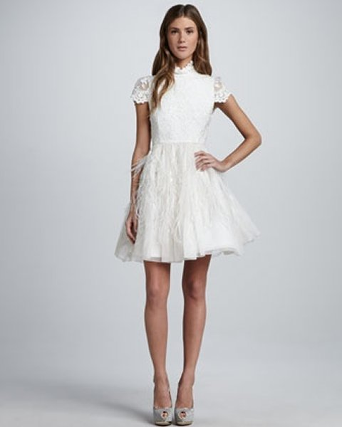 Short Wedding Dress 2014 Collection For Women