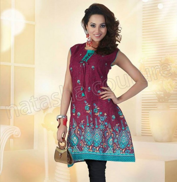 Summer Kurtis Dresses Collection 2014 By Natasha Couture