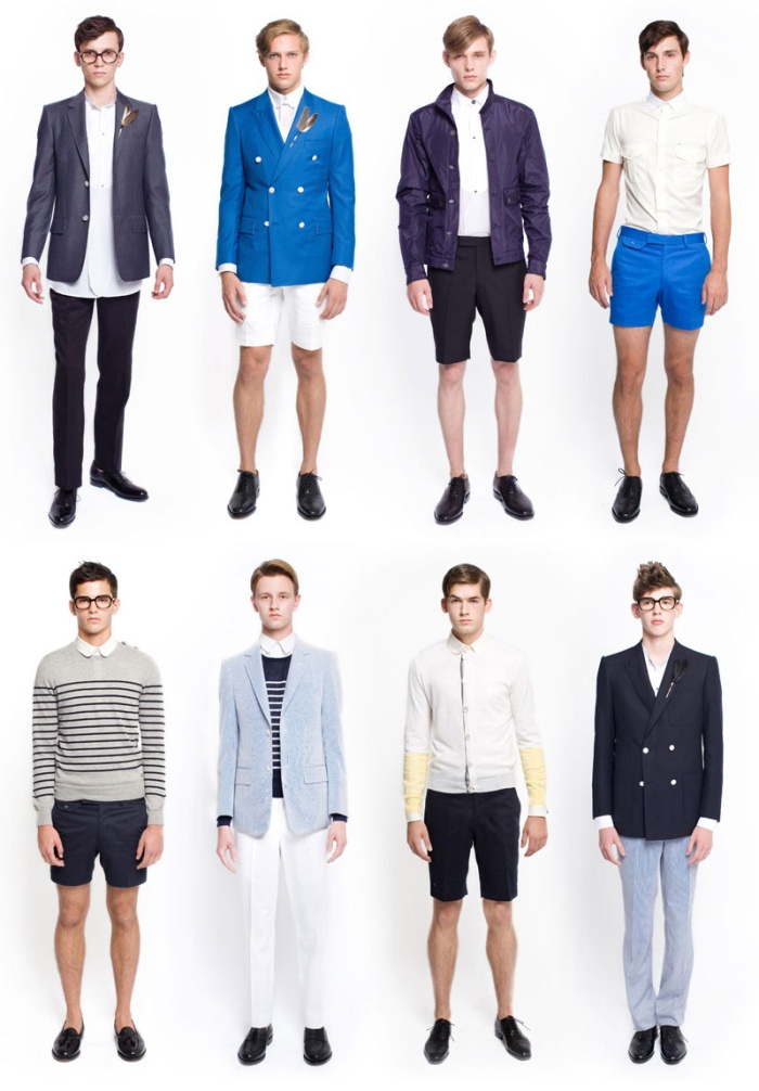 American Apparel Clothing Collection 2014 For Boys