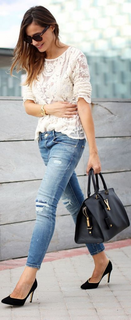 Latest Styles And Trends Of Jeans For Women Over 40 0014 Fashion Fist 1 Fashion Fist