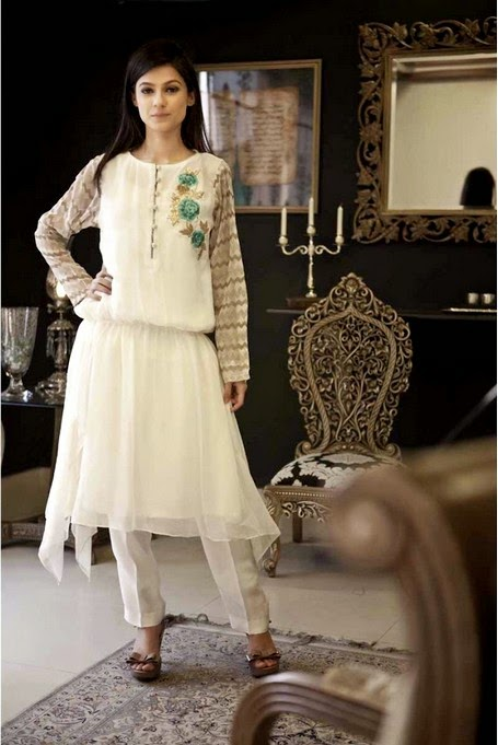 Evening Wear Dresses 2014 Collection For Women By Mariab