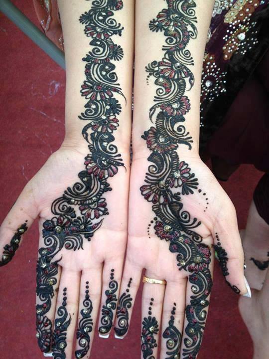 Pretty Henna Designs: Henna Mehndi Design 2014 For Women