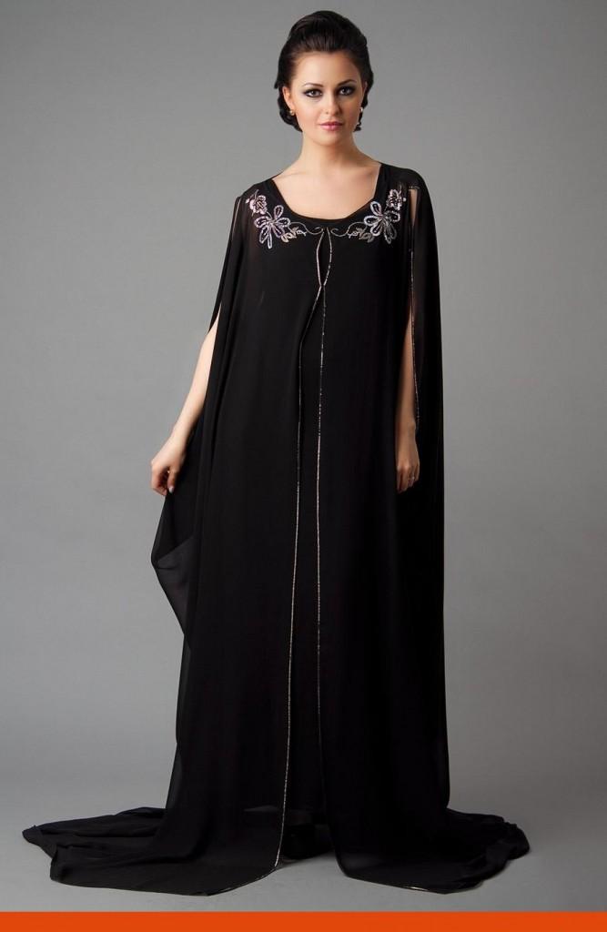 Arabic Abaya Designs 2014 Collection For Girls