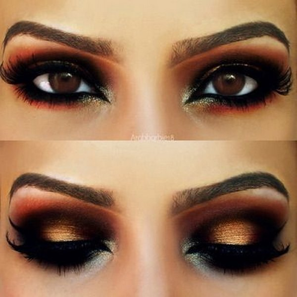 latest eye make up for prom 2014