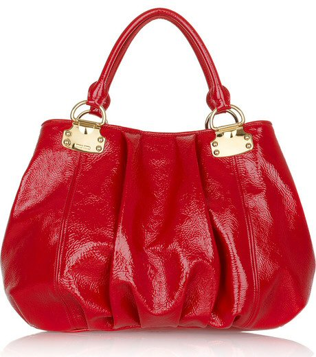 Red Handbags Designs 2014 Collection For Girls