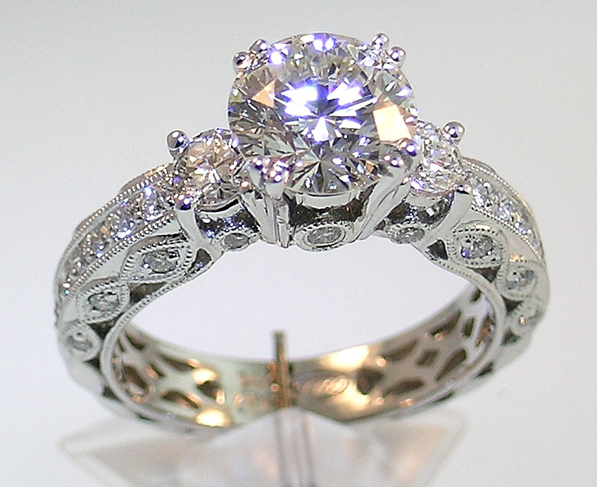so choose the ring that touches your heart but the commercial aspect will not forget - Diamond Wedding Rings For Her